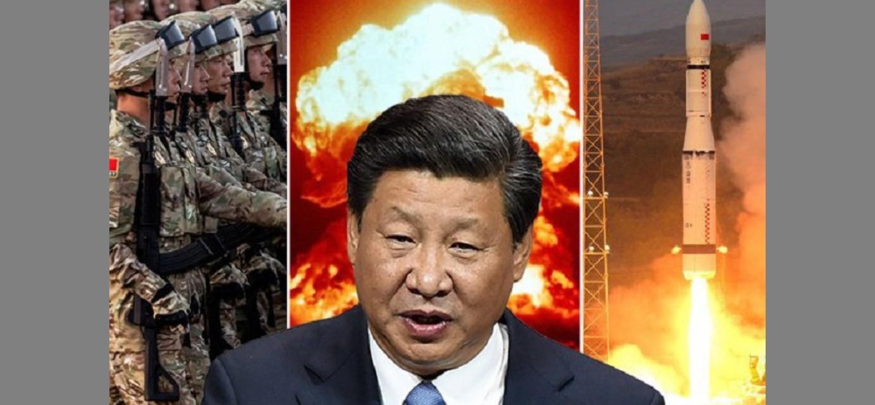 1500 missiles chinois pointés contre Taïwan et des bases américaines