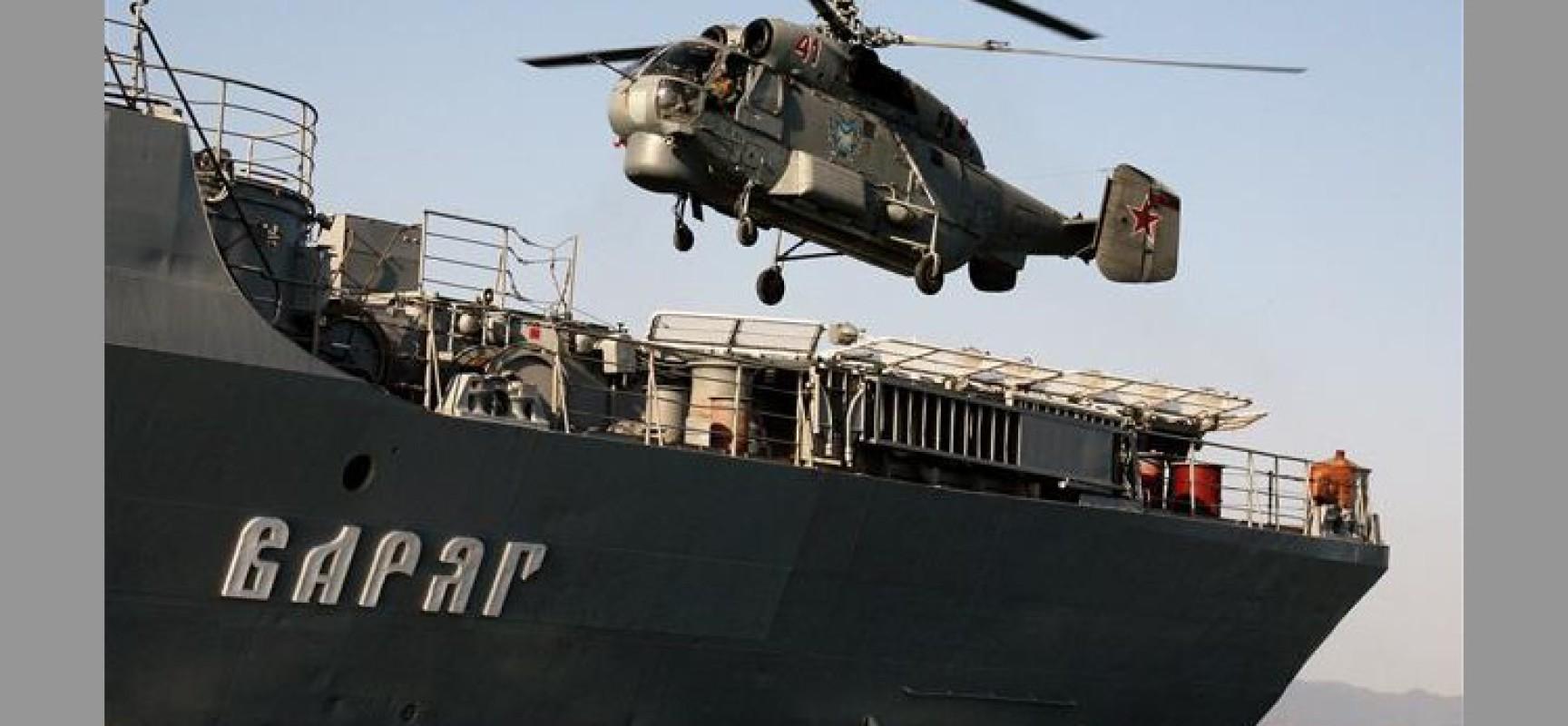 Flotte russe en Corée du Sud : vers un autre front russo-US ?