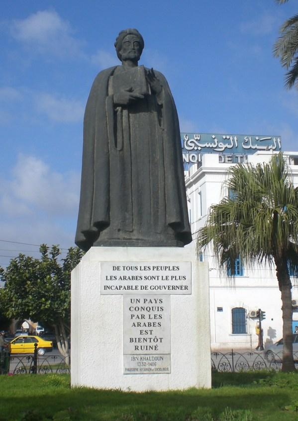 statue_ibn-khaldoun_citation-arabes_tunis