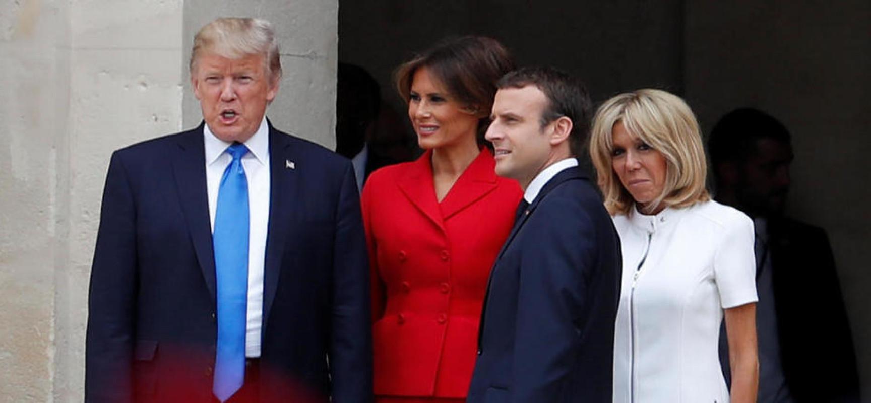 Trump à Paris, un choix stratégique ?