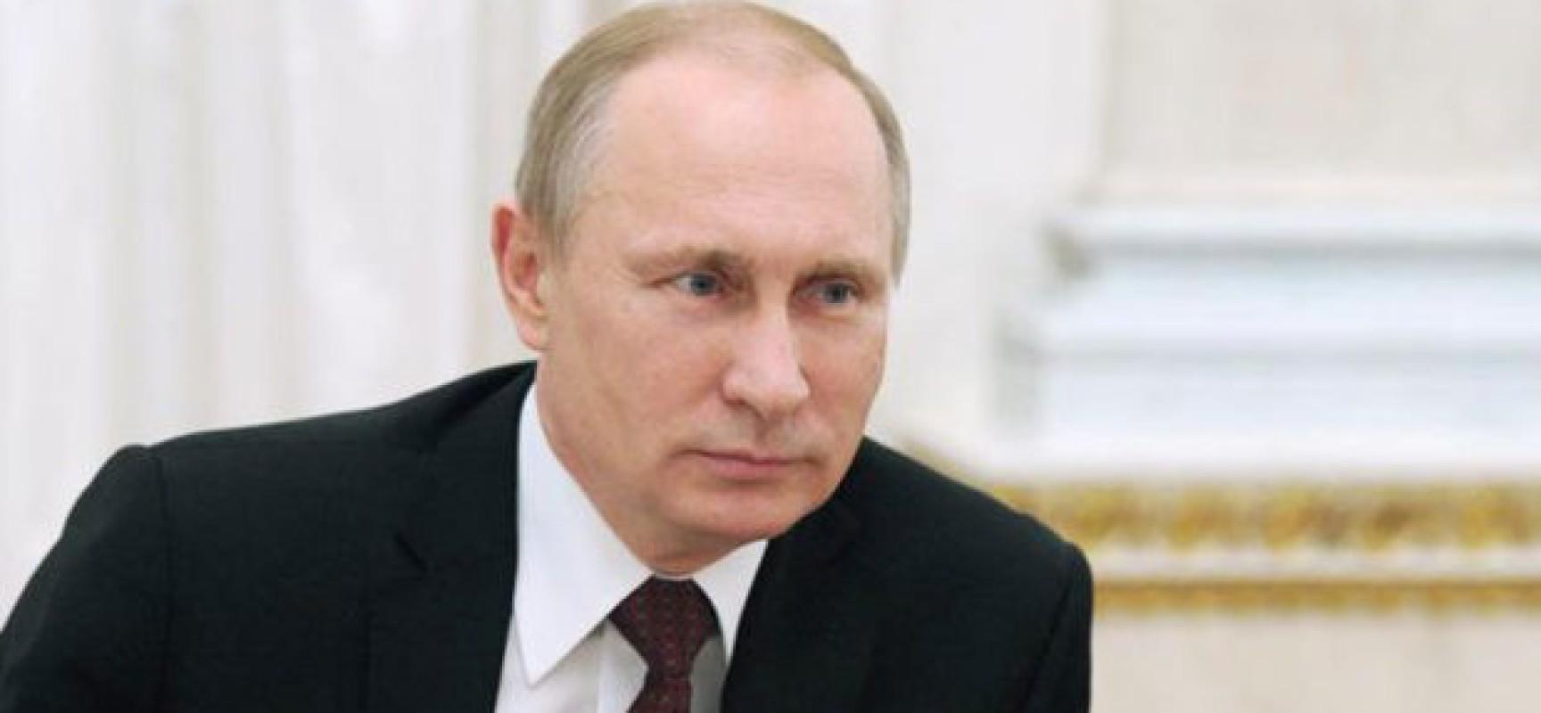 Venezuela : Poutine avertit les Etats-Unis : « Ne cherchez pas à déstabiliser le Venezuela »