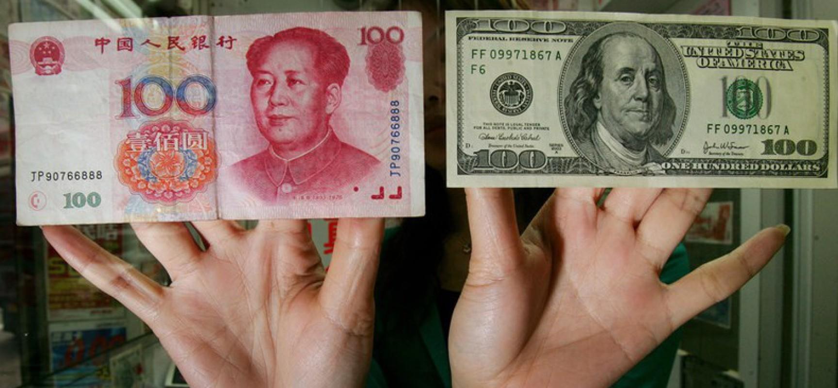 Le lancement du «petro-yuan» dans deux mois par la Chine sonne le glas de la domination du dollar