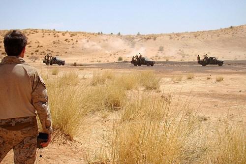 Des forces spéciales US à Gao, Mali