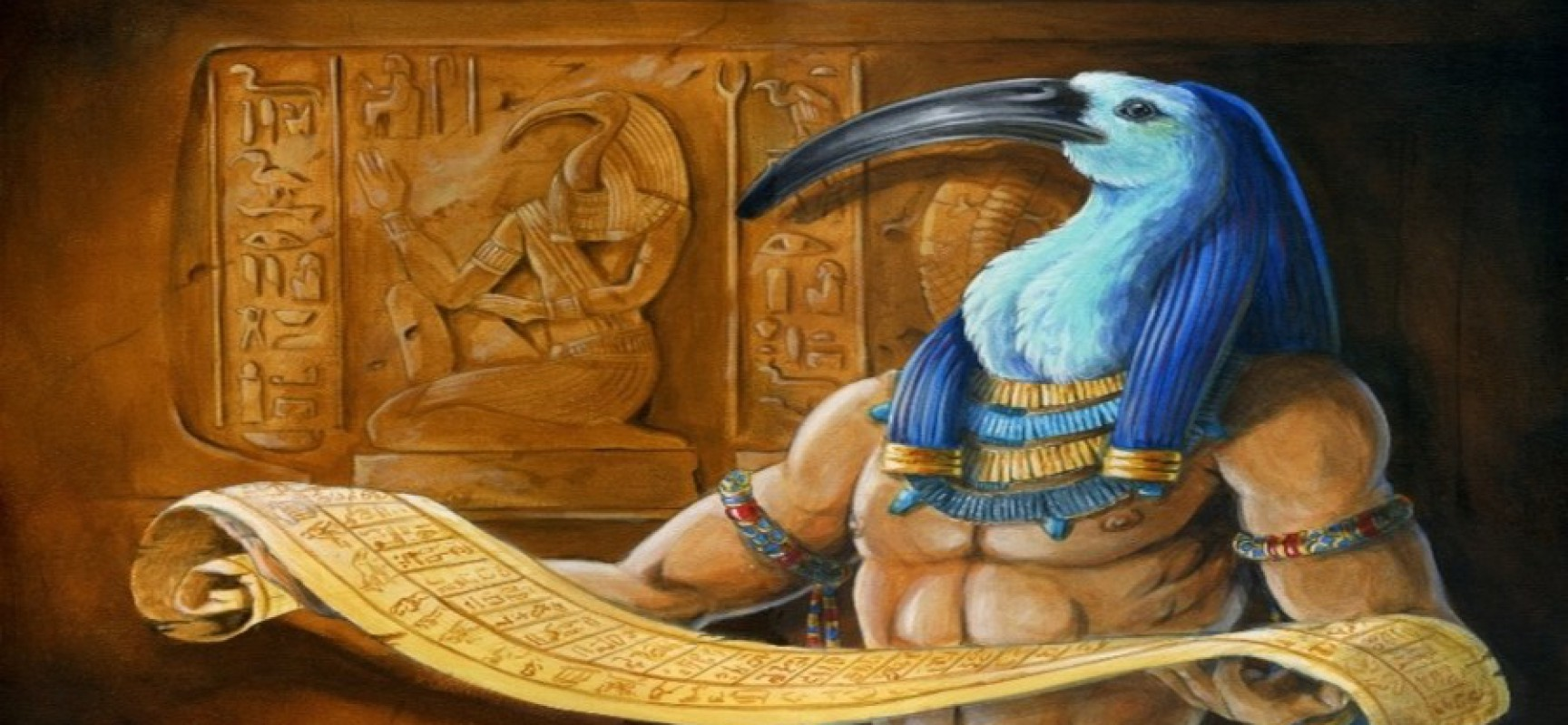 Le Livre de Thot: Un livre sacré égyptien ancien qui offre des connaissances illimitées