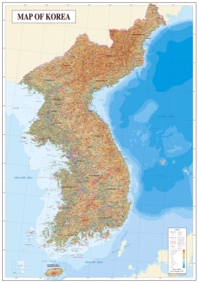 large-detailed-topography-and-geology-map-of-korea