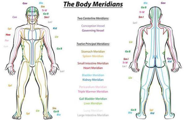 Les anciennes techniques traditionnelles de guérison parlaient toutes des canaux d'énergie, sen, méridiens ou nadis