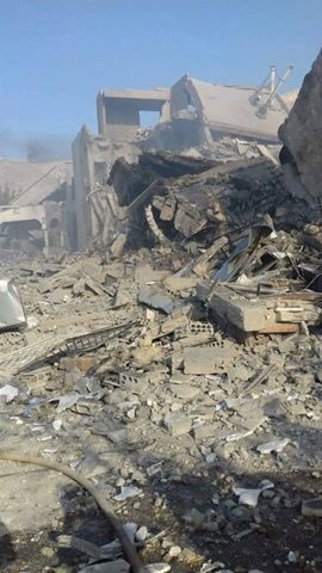 Centre de recherche bombardé par US/UK