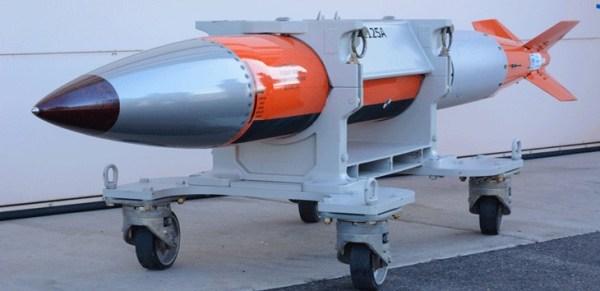 la nouvelle bombe nucléaire américaine B61-12