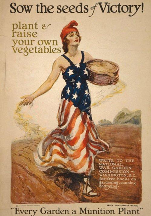 Une affiche propagandiste américaine de l'époque de la Première Guerre mondiale. © Photo, James Montgomery Flagg/Library of Congress