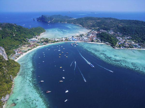 L'île de Phi Phi, en Thaïlande