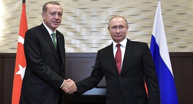 Sommet Poutine-Erdogan 2 20190123