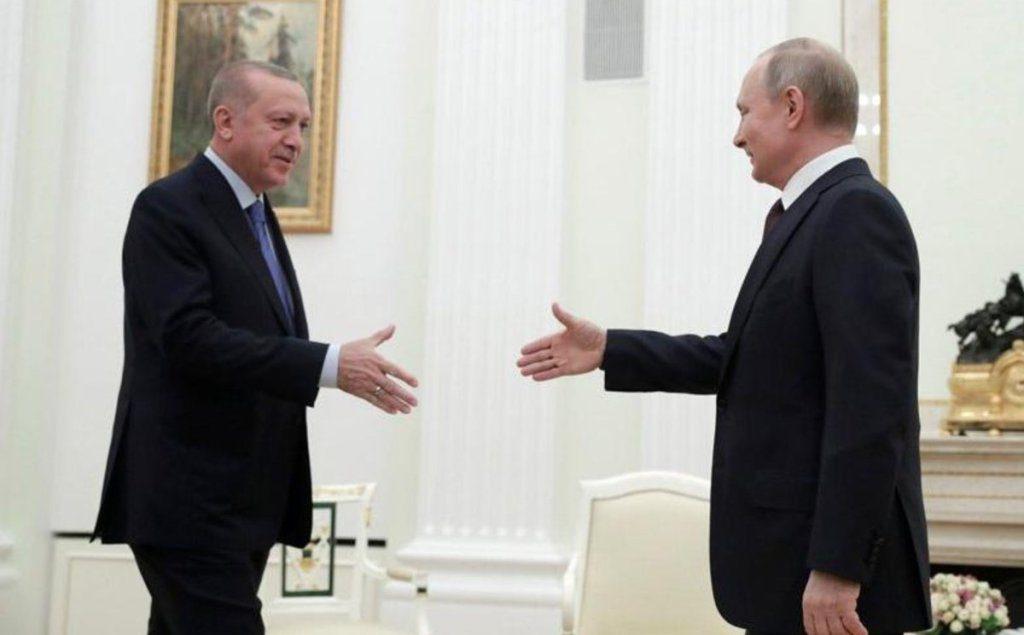 Poutine aide Erdogan à redescendre de son arbre avec un accord de cessez-le-feu