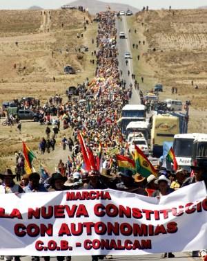 Bolivie – Un peuple qui a su résister et se faire respecter