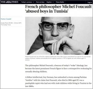 Pédophilie – Guy Sorman accuse le philosophe Michel Foucault d'avoir abusé de petits garçons en Tunisie