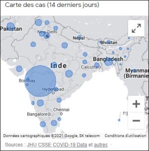 L'Inde et le nouveau variant : un seul État connait une progression fulgurante des cas et des décès ; devinez sa particularité