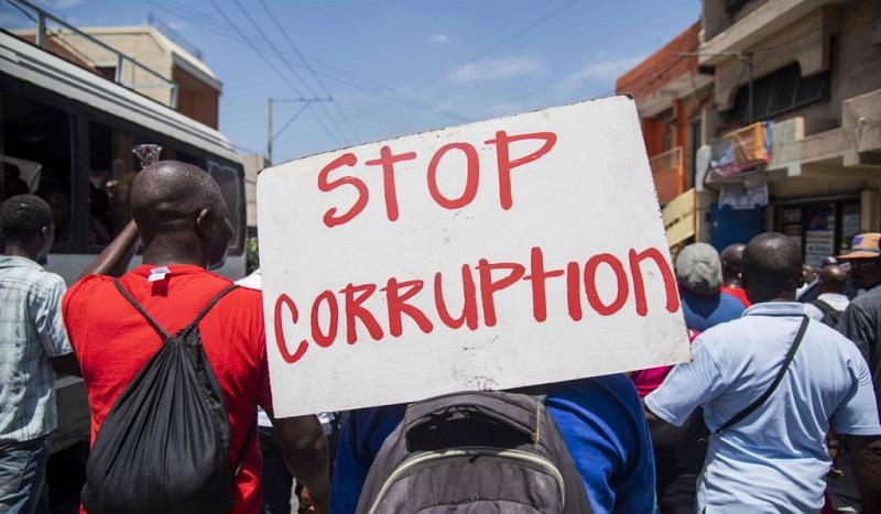 Haïti – Corruption Hâlte-là