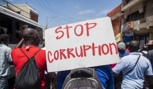 Haïti – Corruption Hâlte-là