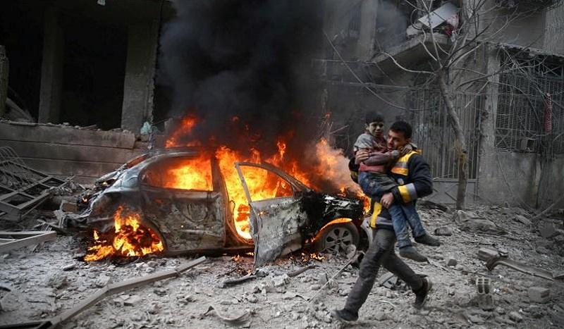 Syrie – Une guerre globale, sans frontières