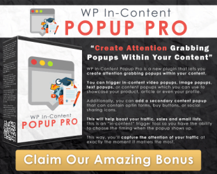 WP In-Content Popup Pro Image