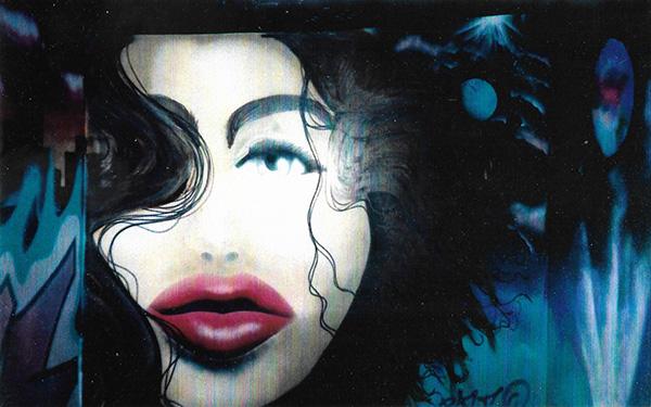 Graffiti Mural of Michelle