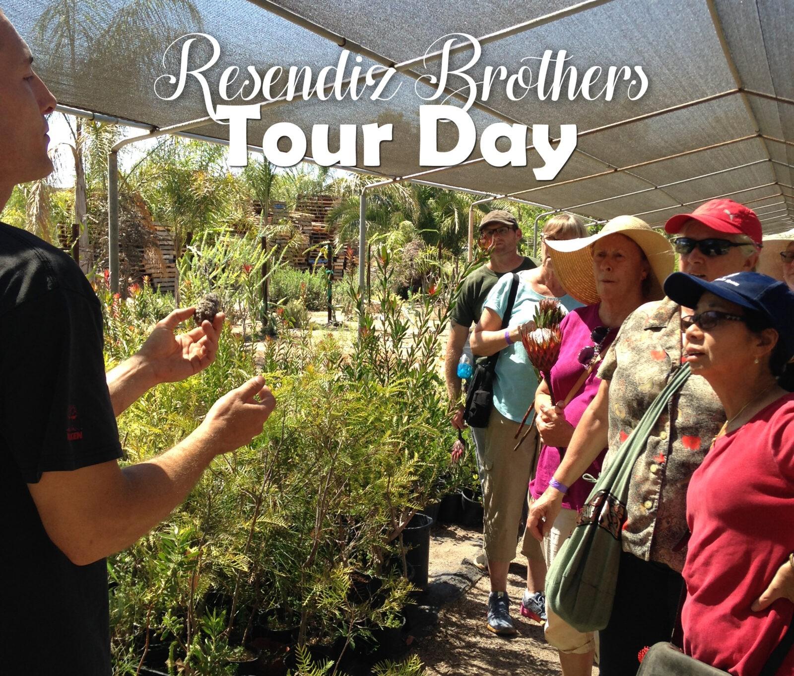 San Diego Gardener Group Tour