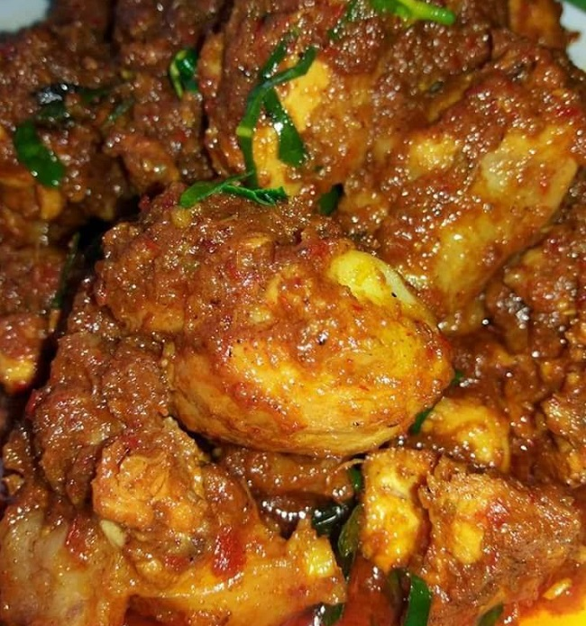 Resepi Ayam Masak Rendang - Resepi Bonda