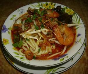 resepi-mee-udang-kuah-tomato