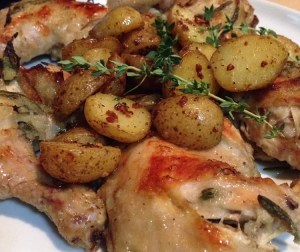 resepi-ayam-herba-panggang-ala-barat
