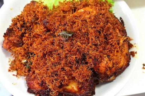 Resepi Nasi Kukus Ayam Berempah