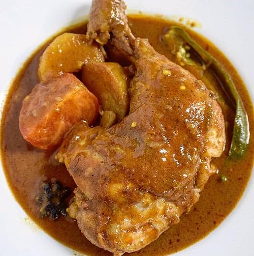 Resepi Ayam Kapitan Sangat Wangi dan Menyelerakan