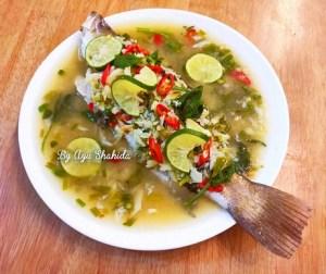 resepi-siakap-masak-stim-limau-thai
