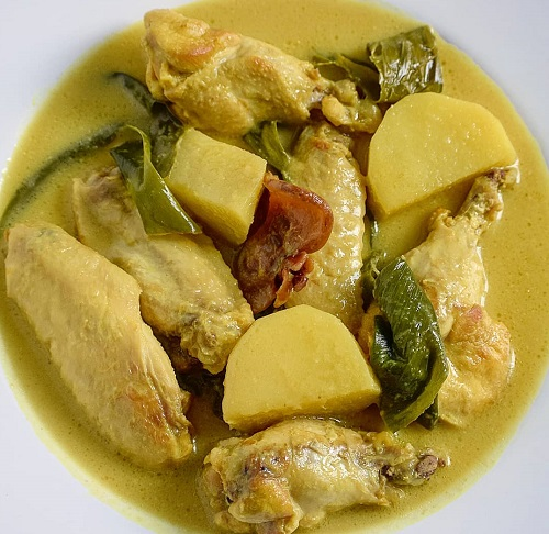 Resepi Ayam Masak Lemak Tak Pedas