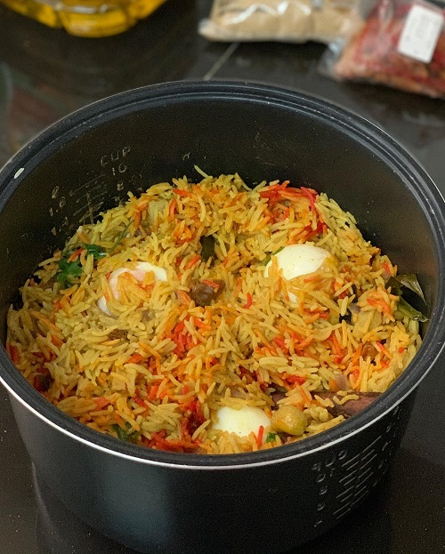 Resepi Nasi Briyani Dengan Ayam Masala