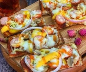 resepi-roti-pizza-ekstra-chezzy
