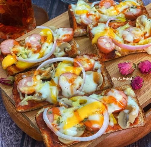 Resepi Roti Pizza Ekstra Chezzy