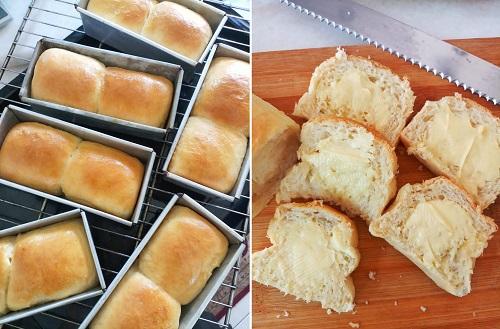 Resepi Roti Putih Mudah Tanpa Breadmaker