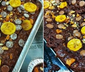 kek-pisang-coklat-kayangan-tanpa-guna-mixer-atau-blender
