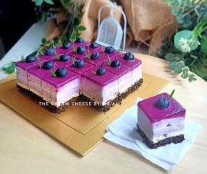 resepi-blueberry-oreo-layer-cheesecake