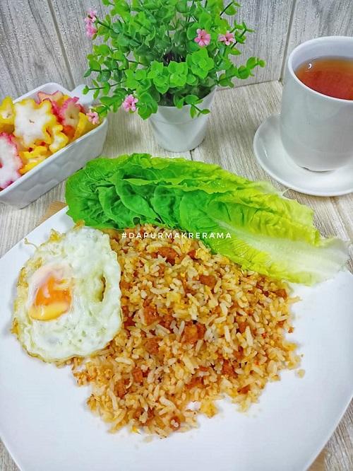 Resepi Nasi Goreng Daging Burger