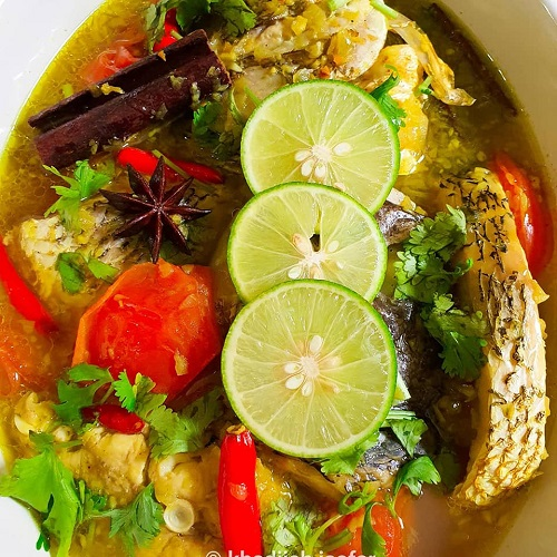 Resepi Sup Ikan Thai Penuh Aroma Herba