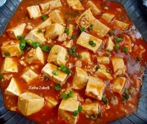 resepi-mapo-tofu-atau-tauhu-berkuah-pedas