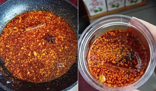 Cara Mudah Buat Garlic Chili Oil
