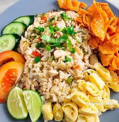 Nasi Goreng Thai Campak-Campak Saja Dah Siap