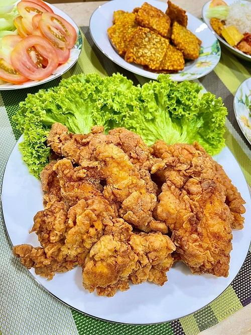 Resepi Nasi Ayam dan Sambal Geprek