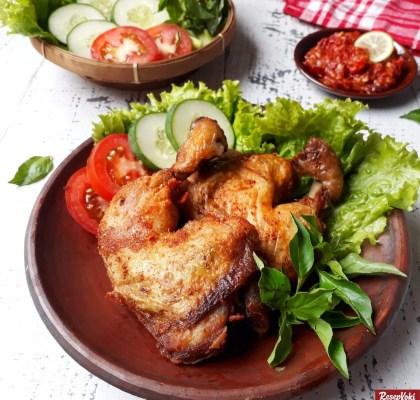 Ayam goreng tulang lunak lezat