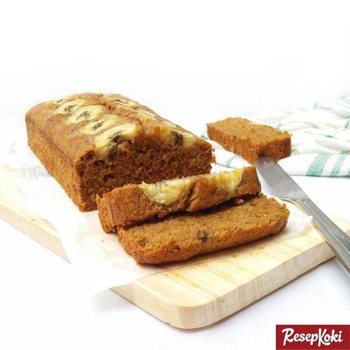 Gambar Hasil Membuat Resep Cake Pisang (Banana Bread)
