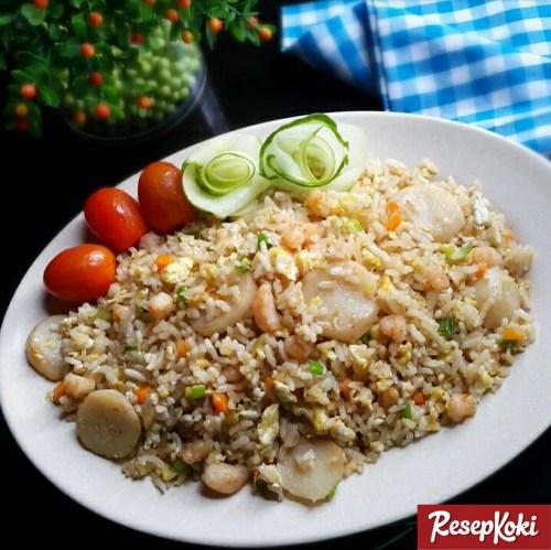Gambar Hasil Membuat Resep Nasi Goreng Oriental