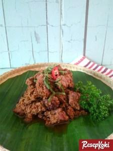 Resep rendang daging asli minang