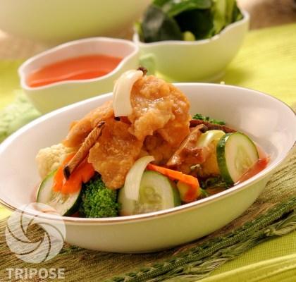 chicken vegetable hot pot