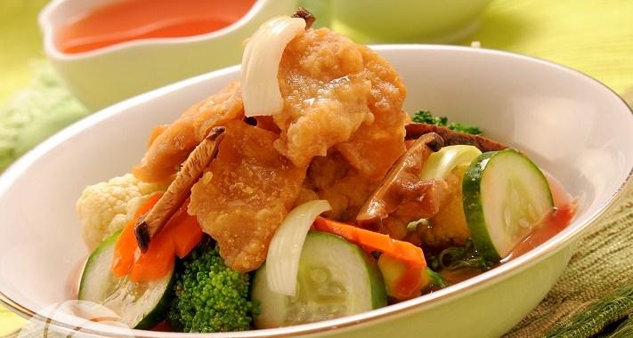 Resep Ayam dan Sayur Hot Pot